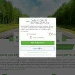 TüV Zertifizierte Dieselpartikelfilter DPF Reinigung
