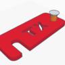 Heckklappenaussteller TX-Version zum selber Drucken (3D-Drucker)
