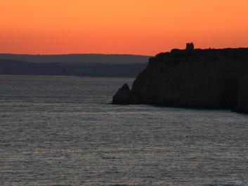 Abendsonne Portugal Carvoeiro