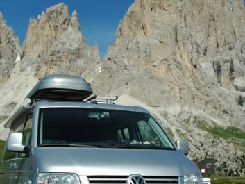 Auf der Dolomitentour